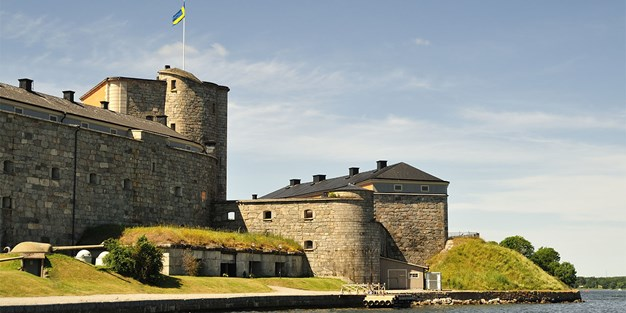 Vaxholm Fortress. Photo