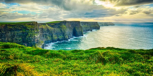 Cliffs of Moher, Irland. Foto
