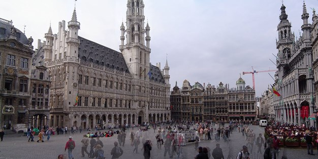 The Grand Place in Brussels. Photo