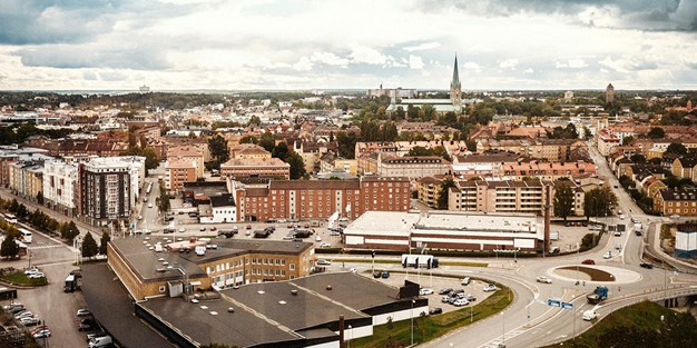 View over Linköping. Photo