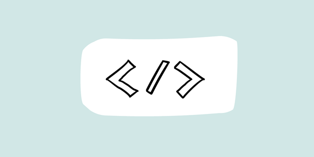 Illustration of a html tag